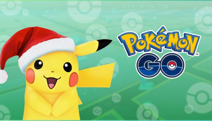 Holiday Pikachu keeps its hat upon evolving