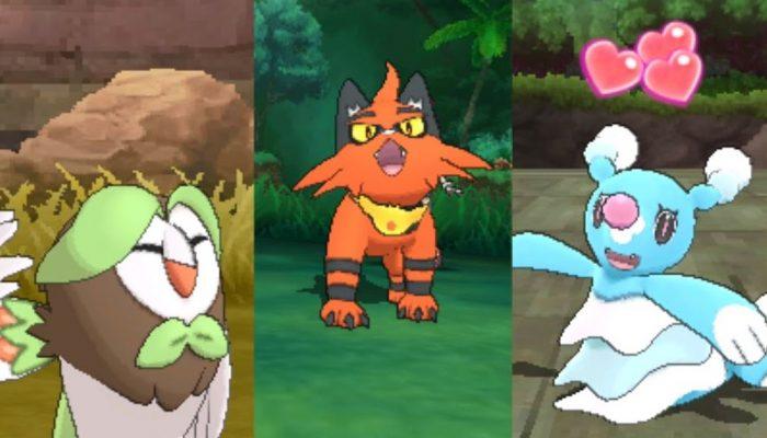 Nintendo France : 'Les évolutions des Pokémon de départ et la Version Démo Spéciale ont été annoncées pour Pokémon Soleil et Pokémon Lune !'