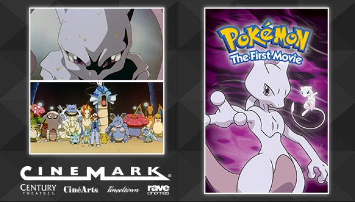 Pokémon: 'Watch Pokémon: The First Movie on the Big Screen'