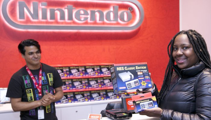 Pictures of the NES Classic Edition Launch Party at Nintendo NY Store