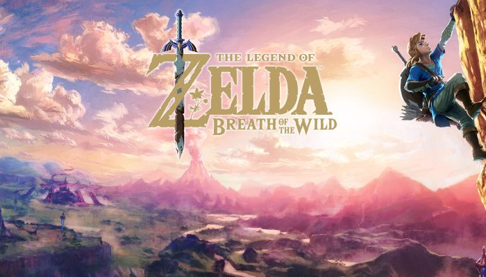 NoE: 'Step into a world of adventure at our The Legend of Zelda: Breath of the Wild teaser website'
