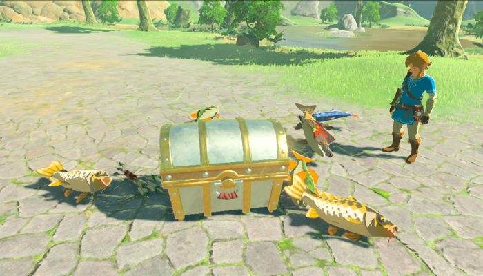 How The Legend of Zelda 30th Anniversary amiibo work in Breath of the Wild