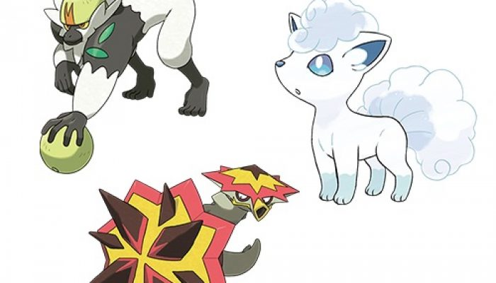 Pokémon Sun & Moon – Look for Pokémon Exclusive to Pokémon Sun or Pokémon Moon