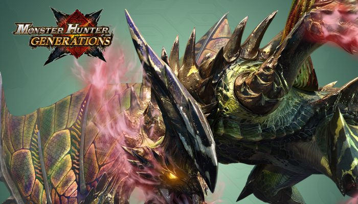 Capcom: 'Monster Hunter Generations – January Free DLC Pack'
