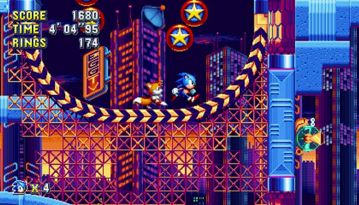 Sonic Mania – Official Nintendo Switch Screenshots