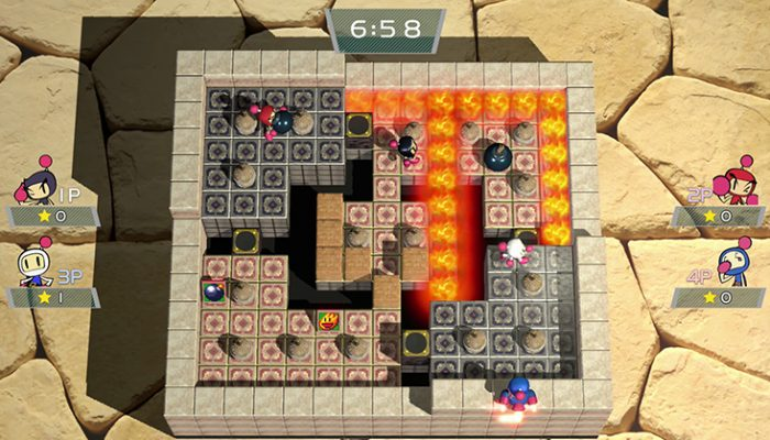 Super Bomberman R – Official Nintendo Switch Screenshots