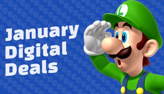NoA: 'January Digital Deals: Select titles on sale + bonus savings for My Nintendo members'