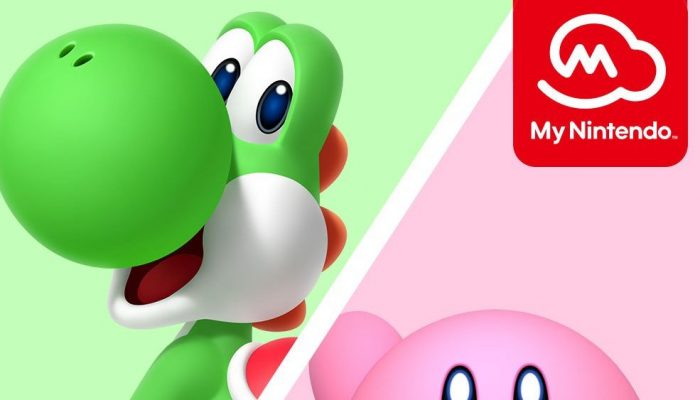 New My Nintendo discounts feature Kirby and Yoshi