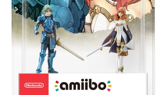 Alm and Celica Fire Emblem Echoes amiibo available on May 19