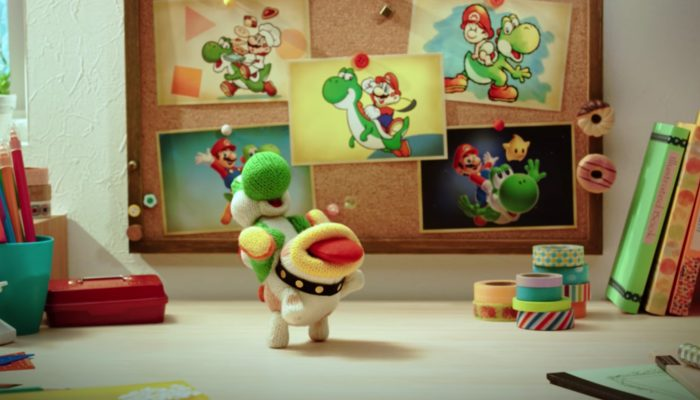 Poochy & Yoshi's Woolly World – Japanese Commercial