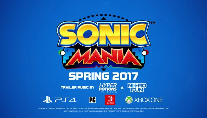 Sonic Mania – Official Nintendo Switch Trailer
