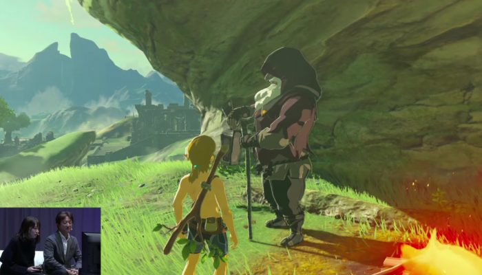 Japanese Nintendo Switch Hands-On Experience 2017 – The Legend of Zelda Breath of the Wild on the Main Stage