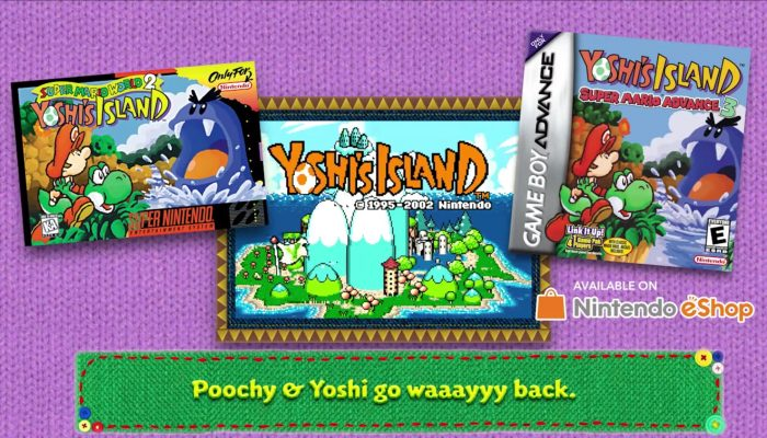Poochy & Yoshi's Woolly World – History of Poochy