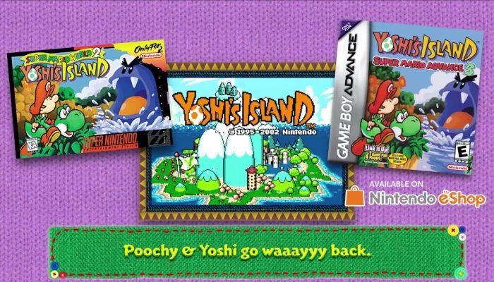 Poochy & Yoshi's Woolly World – History of Poochy