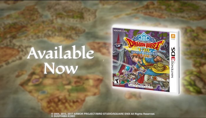 Dragon Quest VIII: Journey of the Cursed King – Launch Trailer