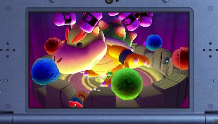 Poochy & Yoshi's Woolly World – Les plateformes avec Poochy !