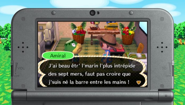 Animal Crossing : New Leaf Welcome amiibo – Amiral