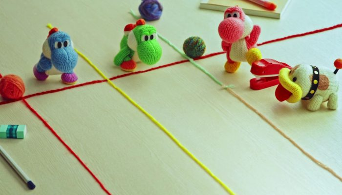 Poochy & Yoshi's Woolly World – Japanese 'Race' Stop-Motion Animation