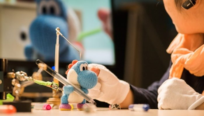 NoE: 'Take a peek at how the Poochy & Yoshi's Woolly World stop motion animations were made in our behind the scenes feature!'
