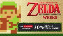 The Legend of Zelda Weeks 2017 Nintendo eShop Sale