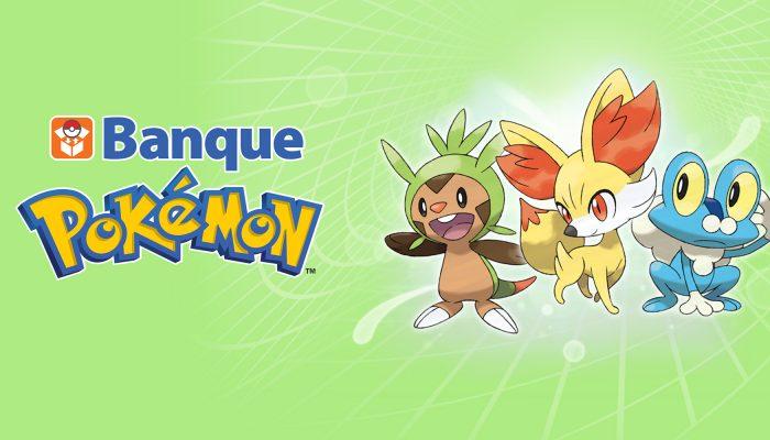 Nintendo France : 'La mise à jour de Banque Pokémon est disponible avec de nouvelles fonctionnalités et la compatibilité avec Pokémon Soleil et Pokémon Lune'