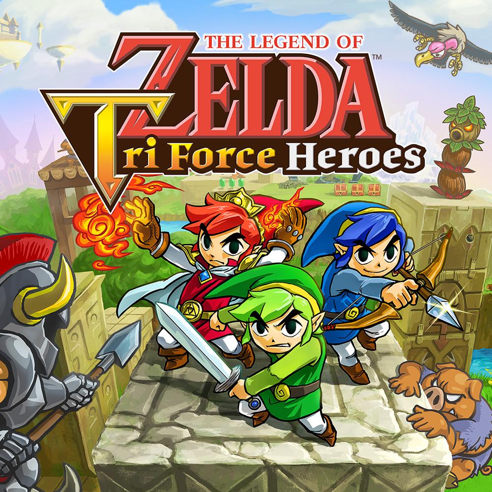 Nintendo eShop Sale The Legend of Zelda Tri Force Heroes