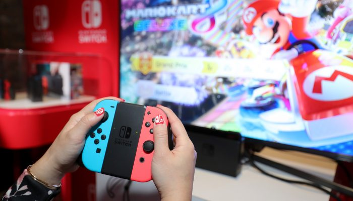Photos of the Nintendo Switch Press Event in New York