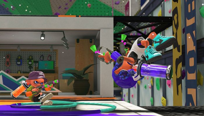 A look at a new map from Splatoon 2
