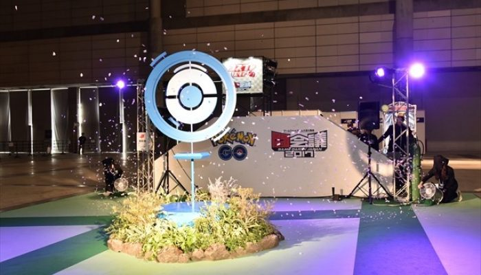 "Pokémon Go – Pictures of a ""Real Pokéstop"" at Tokaigi 2017"