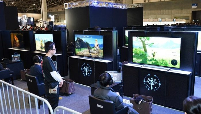 Pictures of Nintendo at Tokaigi 2017