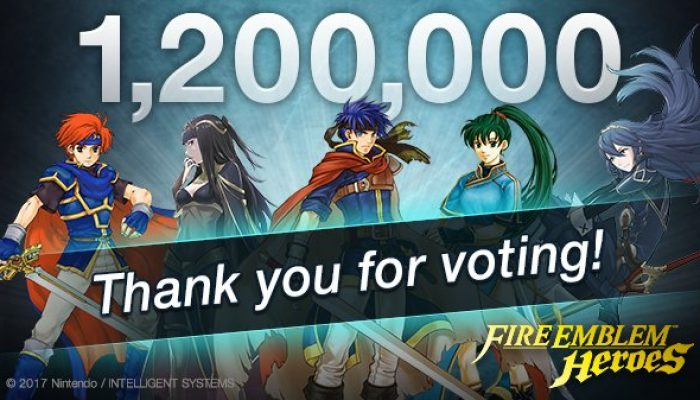 Fire Emblem Heroes Choose Your Legends event closes with over 1.2 million votes
