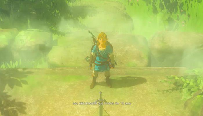 The Legend of Zelda : Breath of the Wild – Premières publicités françaises