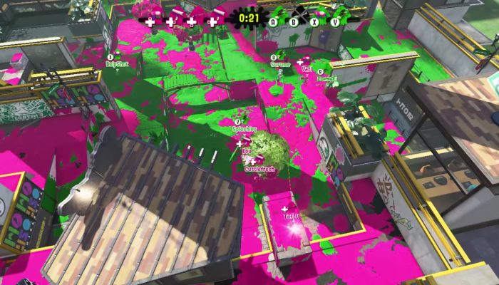 Splatoon 2 – Japanese Private Battle Spectator View Footage