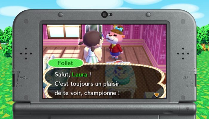 Animal Crossing : New Leaf Welcome amiibo – Lou