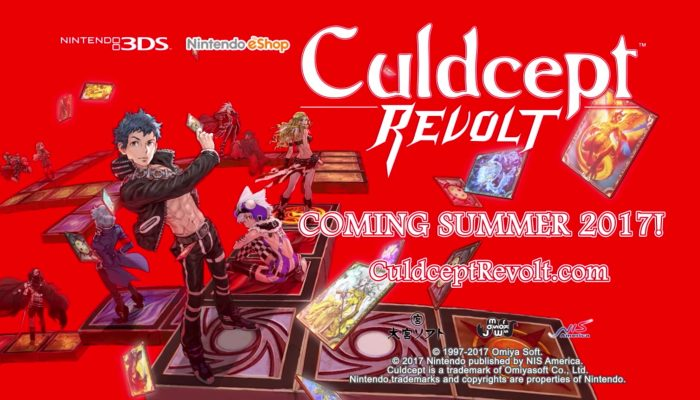 Culdcept Revolt – Announcement Trailer