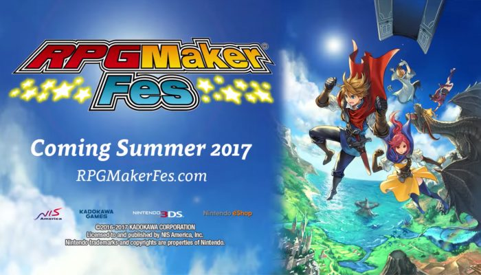 RPG Maker Fes – Announcement Trailer