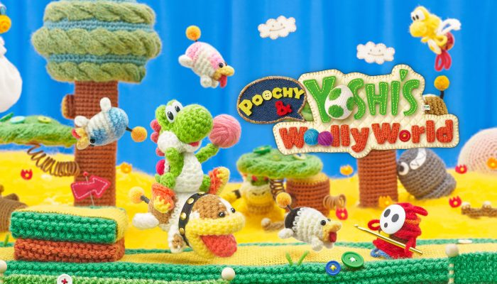 NoE: 'In shops and on Nintendo eShop now: Poochy & Yoshi's Woolly World'