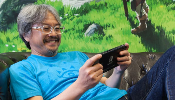 NoE: 'Find out some of Eiji Aonuma's favourite things from The Legend of Zelda series in our interview!'