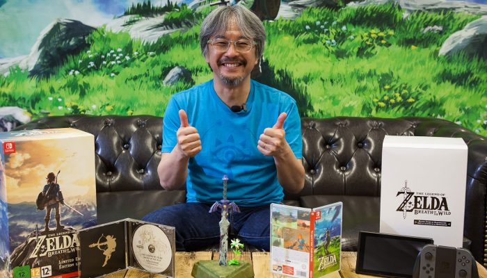 NoE: 'Eiji Aonuma presents The Legend of Zelda: Breath of the Wild Limited Edition'