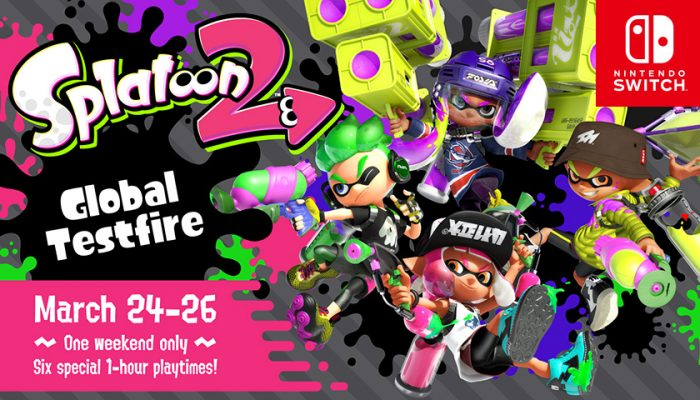 NoA: 'Nintendo Switch owners get free preview of Splatoon 2 during Global Testfire'