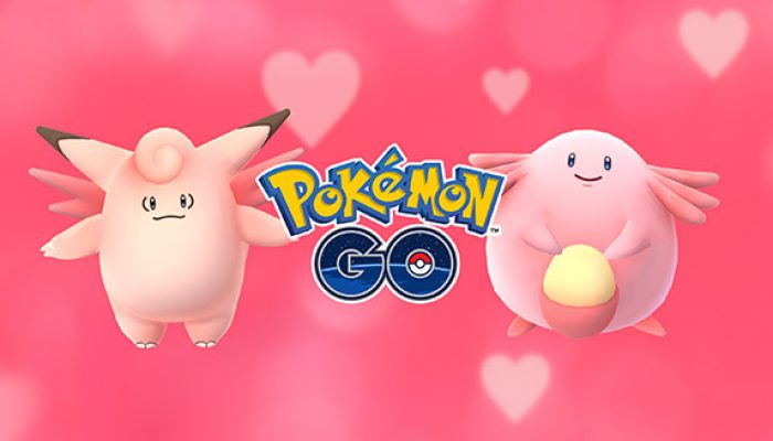 Pokémon: 'Pokémon Go Shares the Love This Valentine's Day'