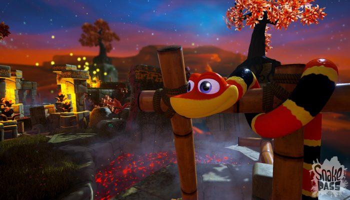 Snake Pass: 'Snake Pass Slithers Its Way Onto Nintendo Switch'