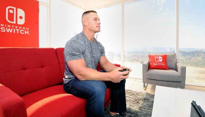 Photos of the Nintendo Switch Unexpected Places Event with WWE Superstar John Cena