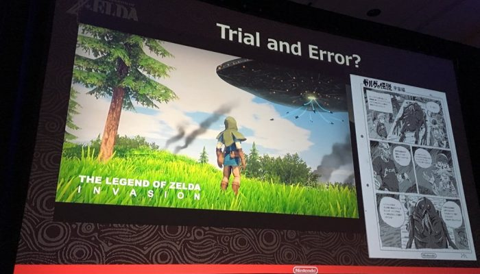 Live tweets of The Legend of Zelda Breath of the Wild GDC 2017 panel