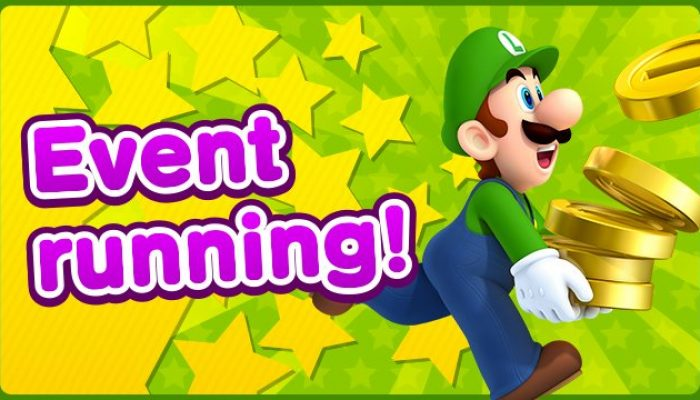 Loads of Coins event in Super Mario Run