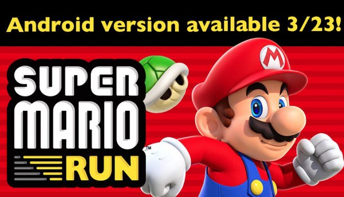 Super Mario Run coming to Android on March 23