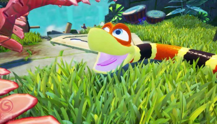Snake Pass – Nintendo Switch Trailer