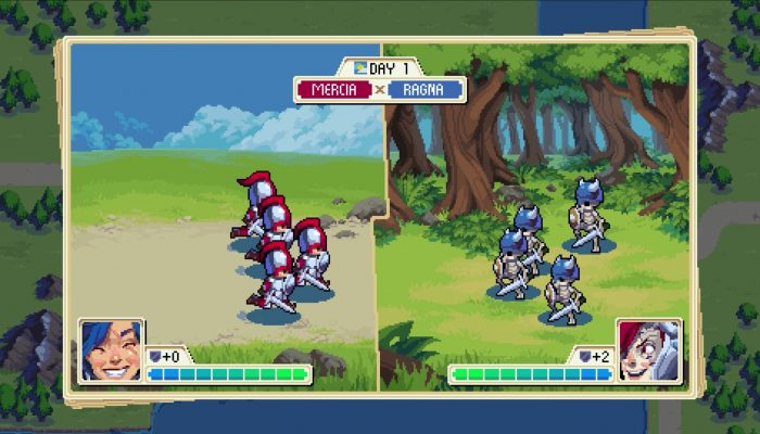 Wargroove – Nintendo Switch Announcement Trailer