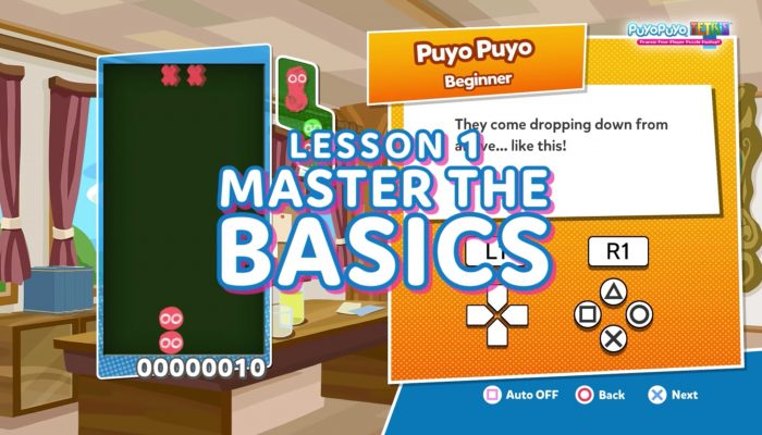 Puyo Puyo Tetris – Back to Basics Trailer