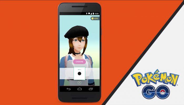 New apparel in Pokémon Go